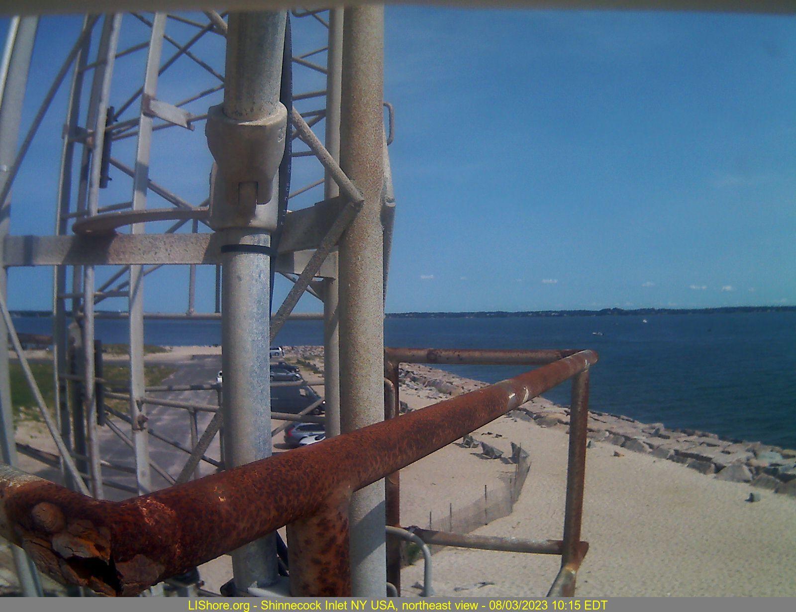Webcam image - northeast view