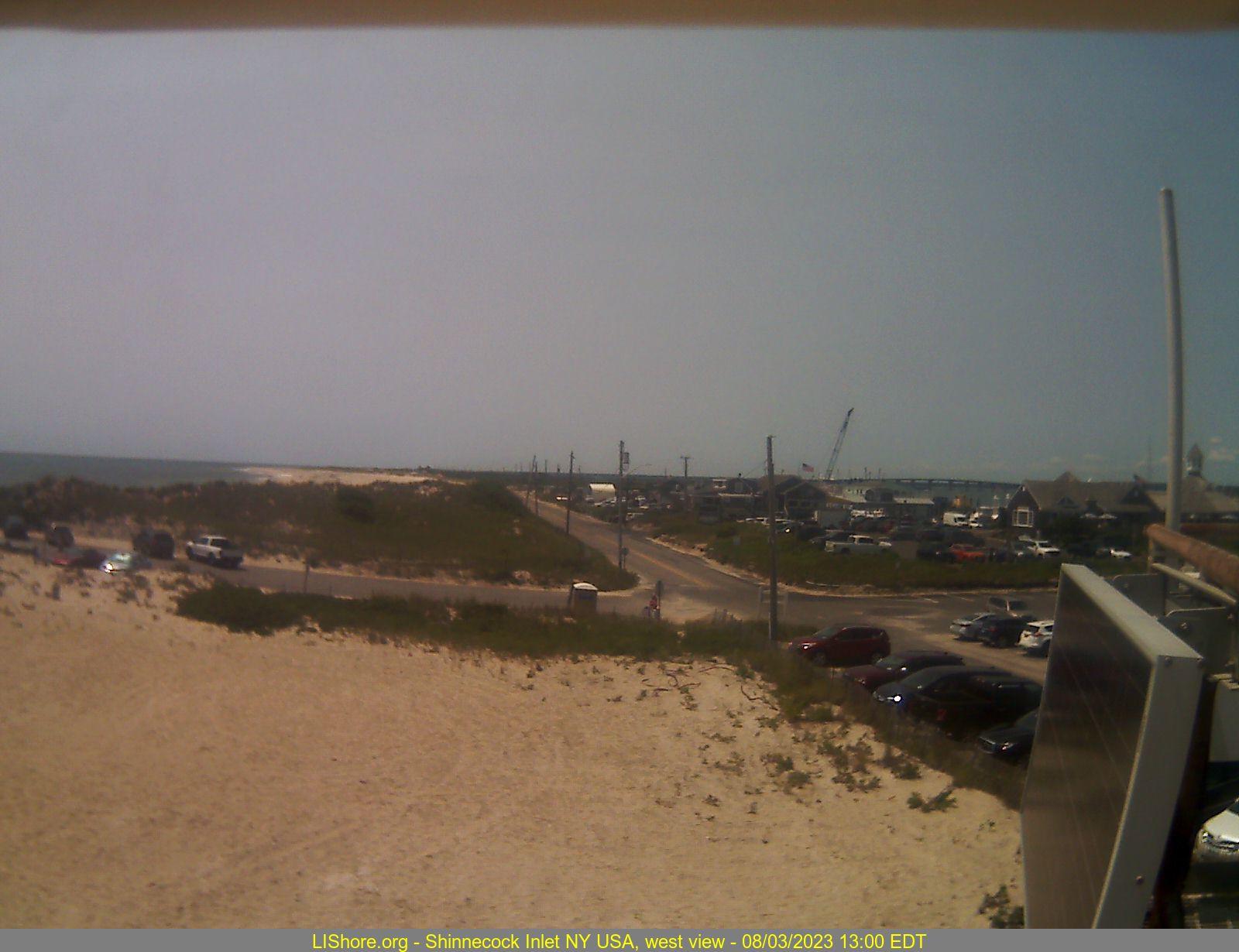 Webcam image - west view
